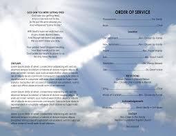 printable funeral program templates 11x17 heavenly dove printable funeral program template free