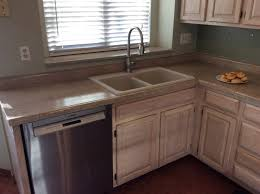 Refinish Corian Countertop Kitchen 22 One Of These Countertops Is Corian The Other Daich