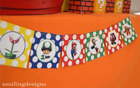 Super Mario Decorations Kara U0027s Party Ideas Super Mario Birthday Party Via Kara U0027s Party