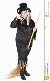 woman dressed as an ugly witch stock images image 425944