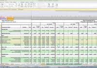 excel spreadsheet for construction estimating and construction