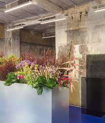 flower store an architectural flower shop tableau opens in copenhagen wallpaper