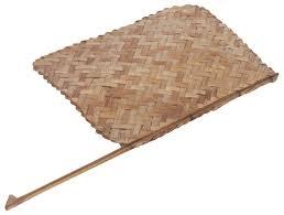 Buy Indian Home Decor Indian Handheld Fan U2013 Hand Woven Bamboo Stripes U2013 Vintage Inspired