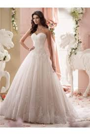 Wedding Dresses Ball Gown Ball Gown Satin Lace Applique Wedding Dress Off The Shoulder Long