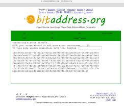 github tutorial key how to generate private key offline with bitaddress bigmob