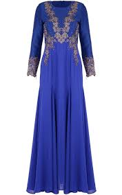 jubah moden jubah dress moden lace zaliqa blue jubah dresses women