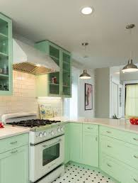 backsplash tile ideas small kitchens green pastel cabinet set and white retro backsplash tile ideas