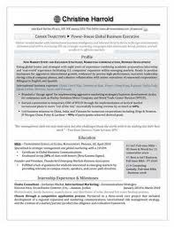 Resume Template For Mba Application Senior Resume Format For Iti Students New Horizon College Of