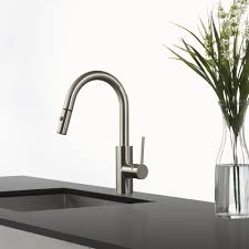 Pull Down Kitchen Faucet by Kraus Kpf2620ss Single Lever Pull Down Kitchen Faucet With 8 11 16