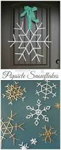 popsicle sticks snowflakes bee crafts bees and sugaring