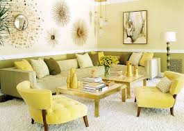 Hot Summer Color Combinations Ideas Trends - Green and yellow color scheme living room
