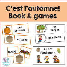 french fall resources primary french immersion resources