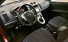 Nissan Sentra Interior 2010 Nissan Sentra Se R Spec V First Drive Motor Trend