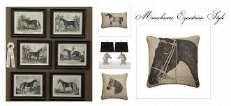 equestrian home decor equestrian monochrome interior inspiration equestrian stylist