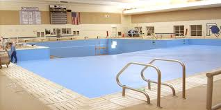 pleasant valley high swimming pool paint and seal project