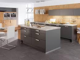 cuisine grise et photo cuisine grise et bois maison design bahbe com