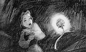 image beauty and the beast concept art belle and the