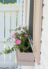 Window Flower Boxes Easy U0026 Inexpensive Diy Window Boxes Love Of Family U0026 Home