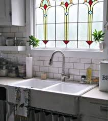 white leaded glass kitchen cabinets stained glass design ideas for modern kitchens