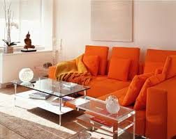 Majestic Orange Living Room Furniture Excellent Decoration Burnt - Orange living room set