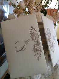 box wedding invitations silk embroidered box wedding invitation by embellishments