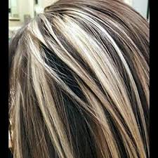 chunking highlights dark hair pictures brown hair with chunky blonde highlights pictures brown hairs