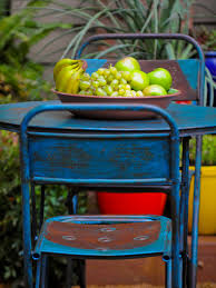 painted chairs images how to distress furniture hgtv