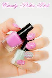 polka dot nails day 10 28 days of sonailicious nails
