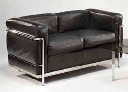 corbusier canapé canapé deux places modèle lc2 by le corbusier on artnet