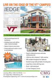 Virginia Tech Campus Map The Edge Apartments And Townhomes