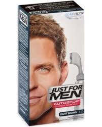 just for men light brown here s a great deal on just for men auto stop hair color in light brown