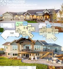 european house plans mountain home ranch floor elegant one story