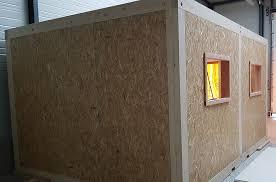 bureau modulaire interieur montage d un bureau modulaire autoporteur de 30 m2 dans un