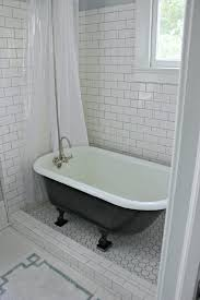 Bathroom Ideas With Clawfoot Tub Clawfoot Tub Enclosed With Glass On Tile Floor Google Search