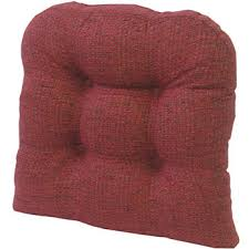 klear vu red chair cushions for the home jcpenney