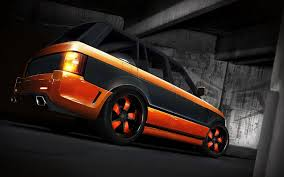 land rover orange orange land rover with a black stripe wallpapers and images