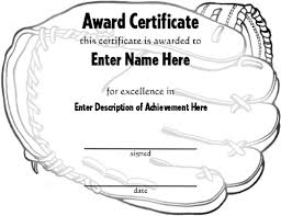 graphical award certificate