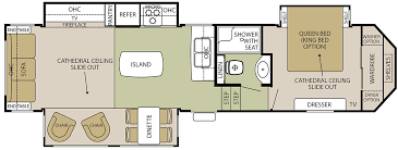 Cougar 5th Wheel Floor Plans Forest River Silverback Fifth Wheels