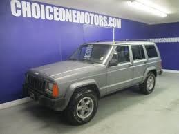 purple jeep cherokee 1996 used jeep cherokee 5 speed 4x4 hard to find at choice one