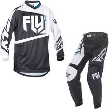 fly womens motocross gear fly racing 2017 f 16 motocross jersey u0026 pants black white kit mx