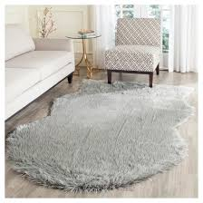 How To Make A Faux Fur Rug Faux Sheep Skin Rug Safavieh Target