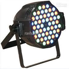 2017 8x ce approved rgbw 54 3w led par light stage par64 light