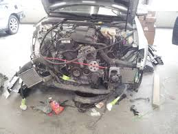 audi a4 in for collision repair justrolledintotheshop