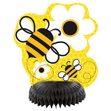 bumble bee table decorations party by design