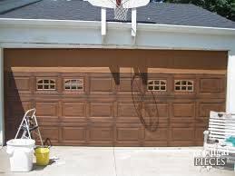 Overhead Door Olathe Ks by Faux Wood Painted Garage Doors
