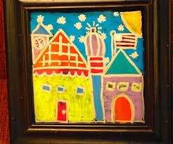 Ikea Paintings by Make It A Wonderful Life Art Club Reverse Painting On Glass