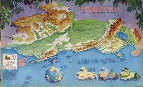 Venezuela Map Richard Edes Harrison Cartographer Decorative Maps