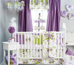 Purple Curtains For Nursery Ideas For Curtains Nursery Editeestrela Design