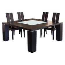 Glass Top Dining Room Sets by Glass Dining Table On Hayneedle Glass Top Dining Table