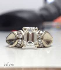 reset wedding ring reset or upgrade your engagement ring